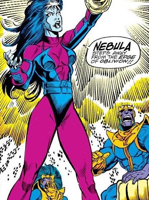 Guardians of the Galaxy Nebula Infinity Gauntlet
