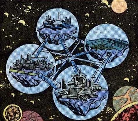 Guardians of the Galaxy Xandar