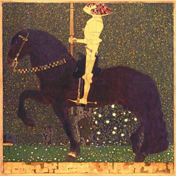 Gustav Klimt, The Golden Knight