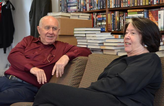 Tom Doherty and Harriet McDougal