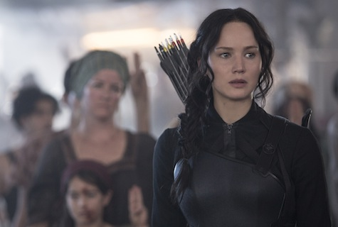Hunger Games, Mockingjay, Jennifer Lawrence