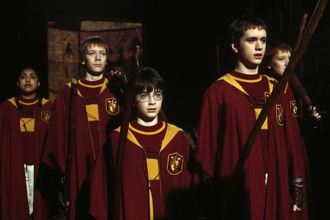 Harry Potter and the Philosopher's Stone, Quidditch