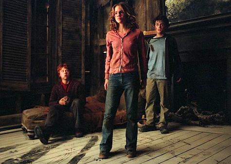 Ron Weasley, Harry Potter, Hermione Granger