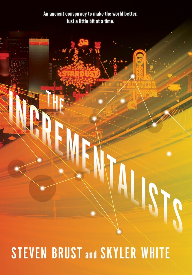 The Incrementalists Steven Brust Skyler White cover reveal