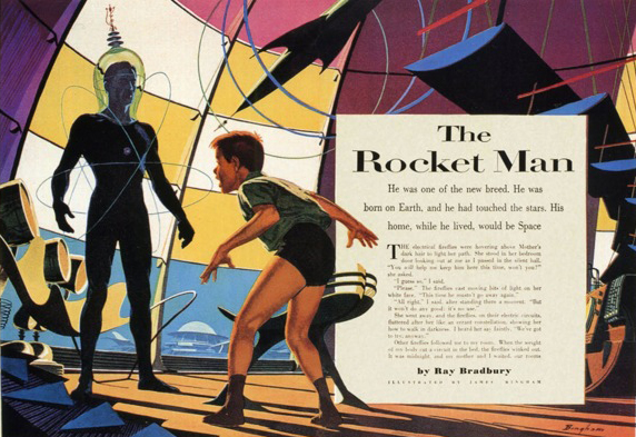 James Bingham, the Rocket Man