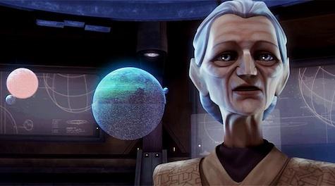 Jocasta Nu librarian Star Wars Clone Wars