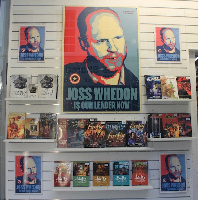 Joss Whedon is Our Leader Now poster by Sarah Anne Langton