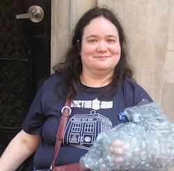 Joy Fleisig at the Doctor Who Live Con