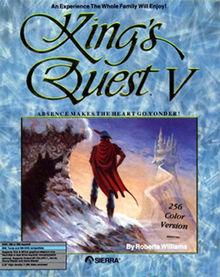 King's Quest V Box Art