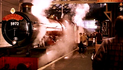 Platform 9 3/4, Harry Potter