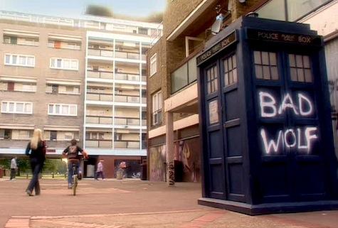 Brandon Estate, Doctor Who