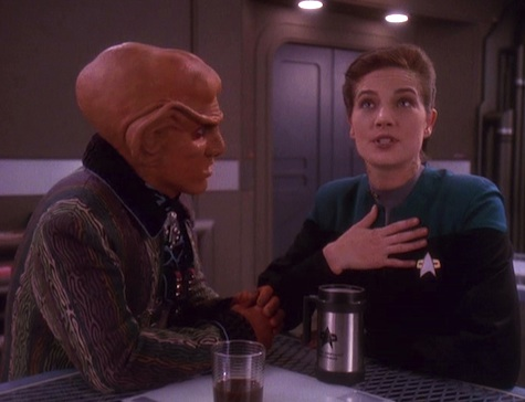 Remarkable, very deep space nine porn what