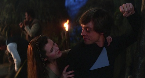 Luke Skywalker, Return of the Jedi, Star Wars, Leia