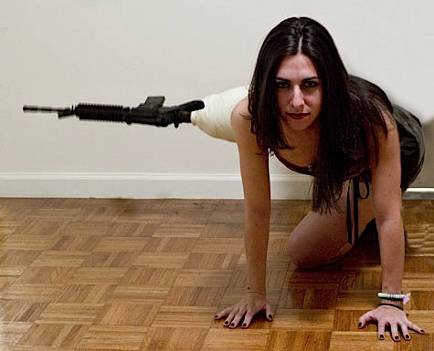 How To Make A Machine Gun Leg by Stacey Brook