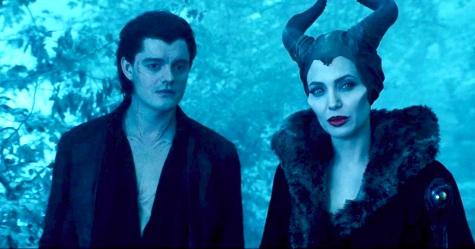Maleficent, Angelina Jolie, Diaval, Sam Riley