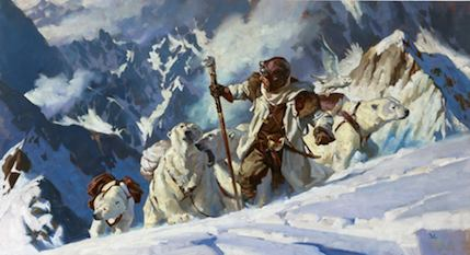 Greg Manchess artwork at Tor.com Art Department