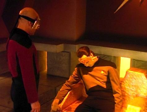 Star Trek: The Next Generation Masks rewatch