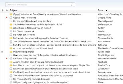 Mat Cauthon's Inbox on Tor.com Wheel of Time