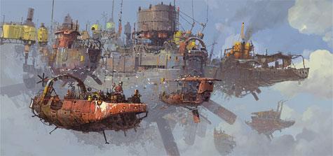 Ian McQue, Flotilla