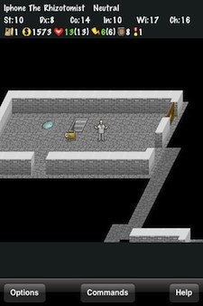 Nethack for the iPhone, iPod and iPad