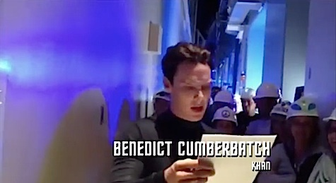 Star Trek Into Darkness, Neutron Cream, Benedict Cumberbatch