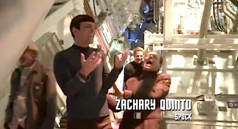 Star Trek Into Darkness, Neutron Cream, Zachary Quinto, Simon Pegg, Chris Pine