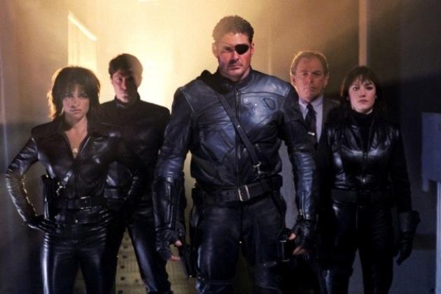 David Hasselhoff Nick Fury SHIELD