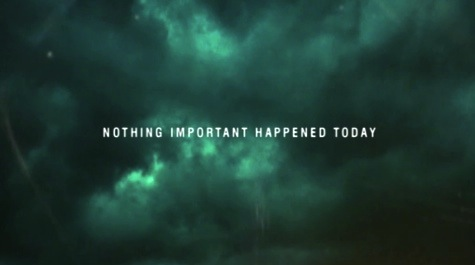Reopening The X-Files Nothing Important Happened Today