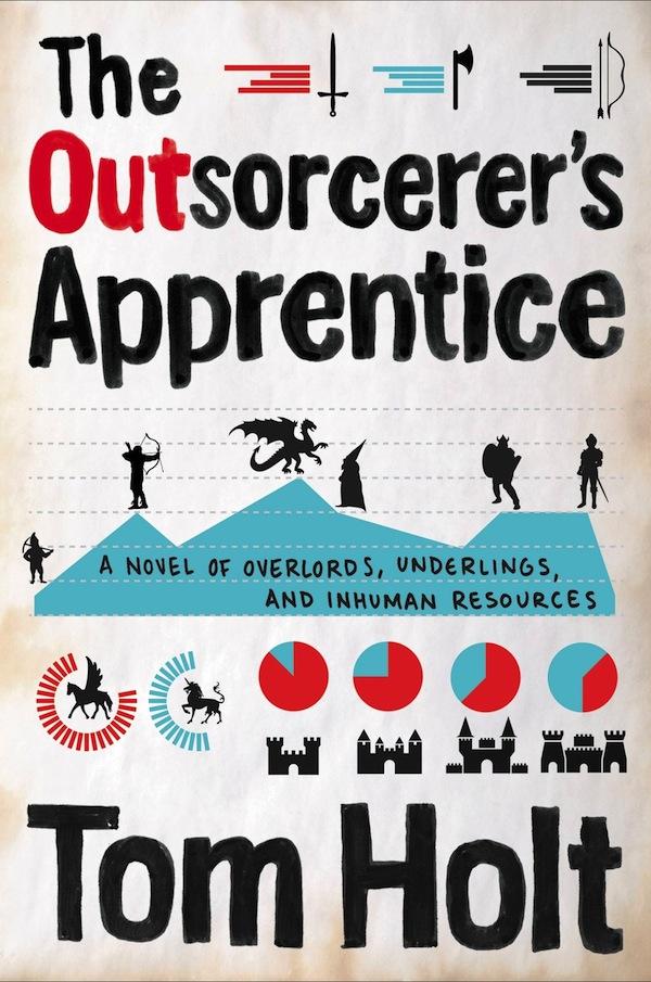 Orbit cover art Outsorcerer's Apprentice Tom Holt