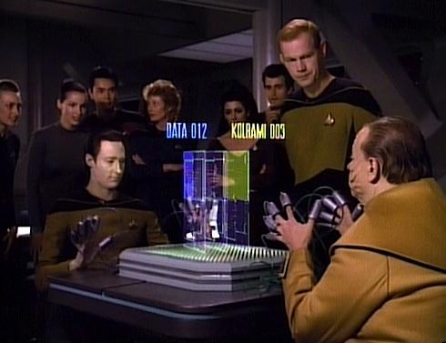 Mens TNG Season 2 Episode 21 Tank Top Star Trek