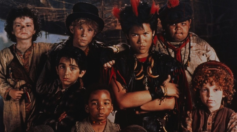 Peter Pan, Hook, Rufio, lost boys