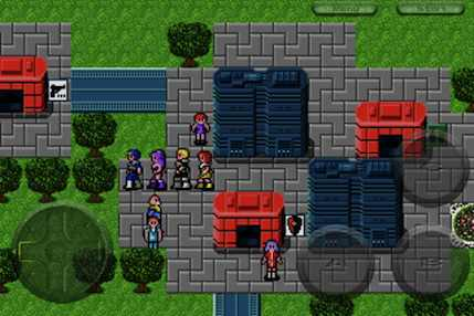 Phantasy Star II on the iPhone, iPod and iPad