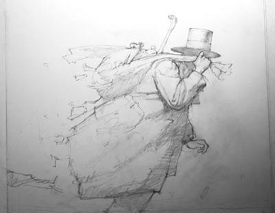 Making the Art for Rag and Bone John Jude Palencar