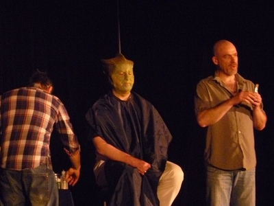 Gary Russell as a Silurian - Photo by Robin Burks