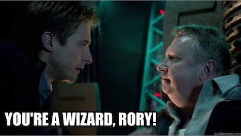Doctor Potter meme Doctor Who Harry Potter crossover Rory Weasley