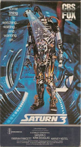 VHS Covers Saturn 3 Robert Lamb