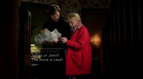 Sherlock, The Empty Hearse, Mary
