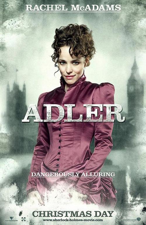 Rachel McAdams from 2009's Sherlock Holmes