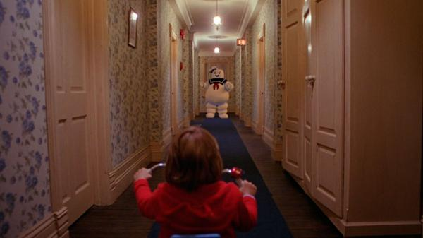 #AddAPuftRuinAMovie Stay Puft Marshmallow Man Ghostbusters best of The Shining