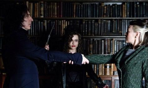 Severus Snape, Bellatrix Lestrange, Narcissa Malfoy, Half-Blood Prince