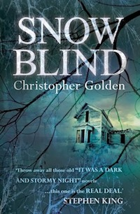 Snowblind Christopher Golden UK Cover