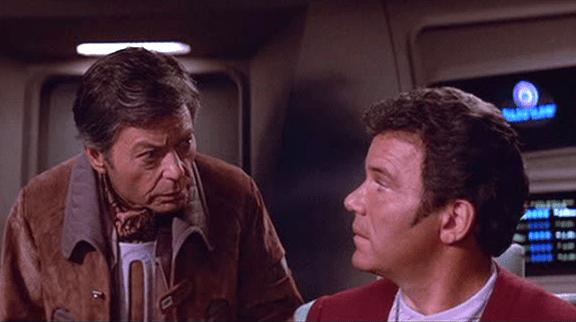 McCoy, Krik, Star Trek, Wrath of Khan