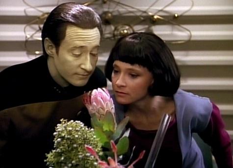 Star TrekL The Next Generation, Data, Lal, Offspring