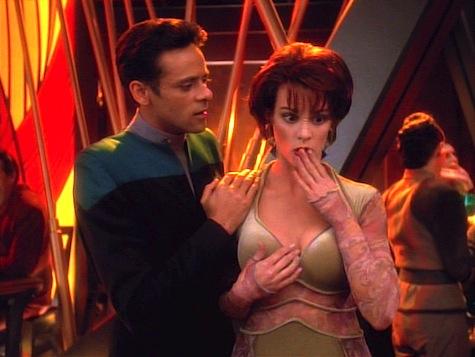 Star Trek Deep Space Nine, Explorers, Bashir, Leeta