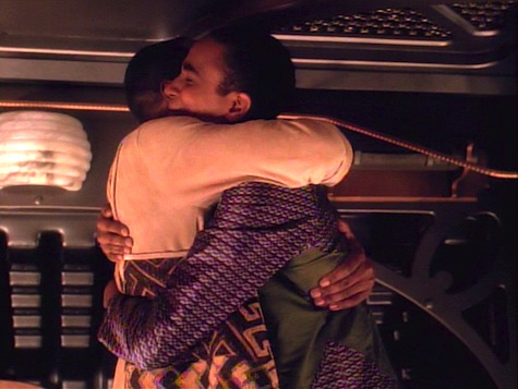 Star Trek Deep Space Nine, Explorers, Sisko, Jake