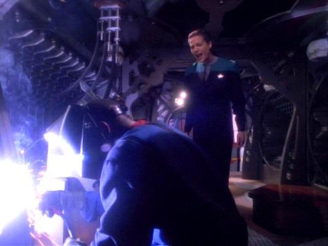 Star Trek Deep Space Nine, Explorers, Sisko, Dax