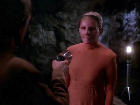Star Trek Deep Space 9, Heart of Stone, changeling