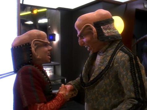 Star Trek Deep Space 9, Heart of Stone, Rom, Nog