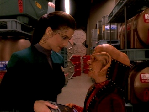Star Trek Deep Space 9, Heart of Stone, Dax, Nog