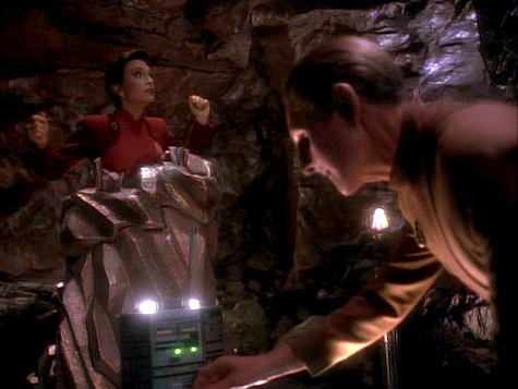 Star Trek Deep Space 9, Heart of Stone, Kira, Odo